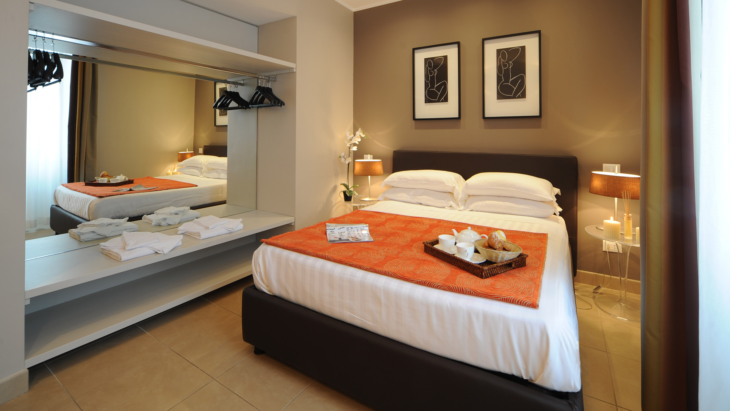 Residence-Trianon-Borgo-Pio-Roma-appartamento-due-stanze-2020-letto-2